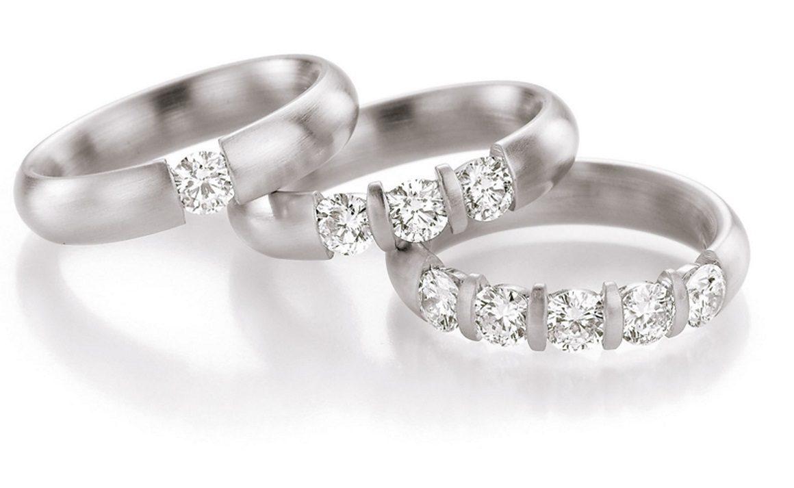 Verlobungsringe Weißgold Diamantringe