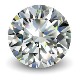 geschliffener Diamant