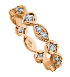 Ring Rosegold Brillanten